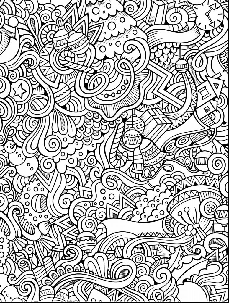 776x1024 Adults Coloring Pages Hard Fresh Difficult Printable Image