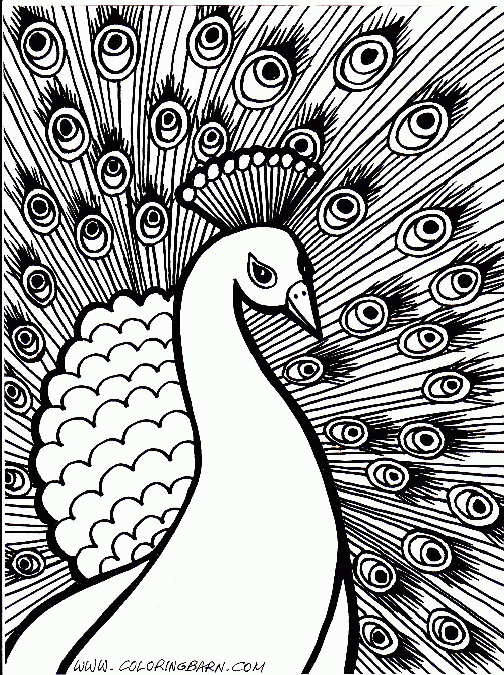 1000x1339 Printable Hard Pattern Coloring Pages For Girls