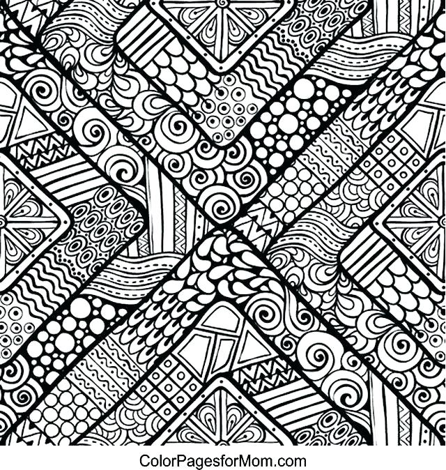 Hard Coloring Pages Pdf - Coloring Home | 674x640