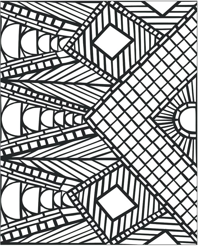 650x809 Coloring Pages Patterns Coloring Pages Patterns Geometric Cool