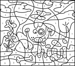 Hard Dog Coloring Pages