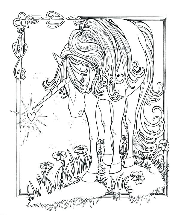 615x718 Dragon Coloring Pages For Adults Plus Unicorn Coloring Pages Hard