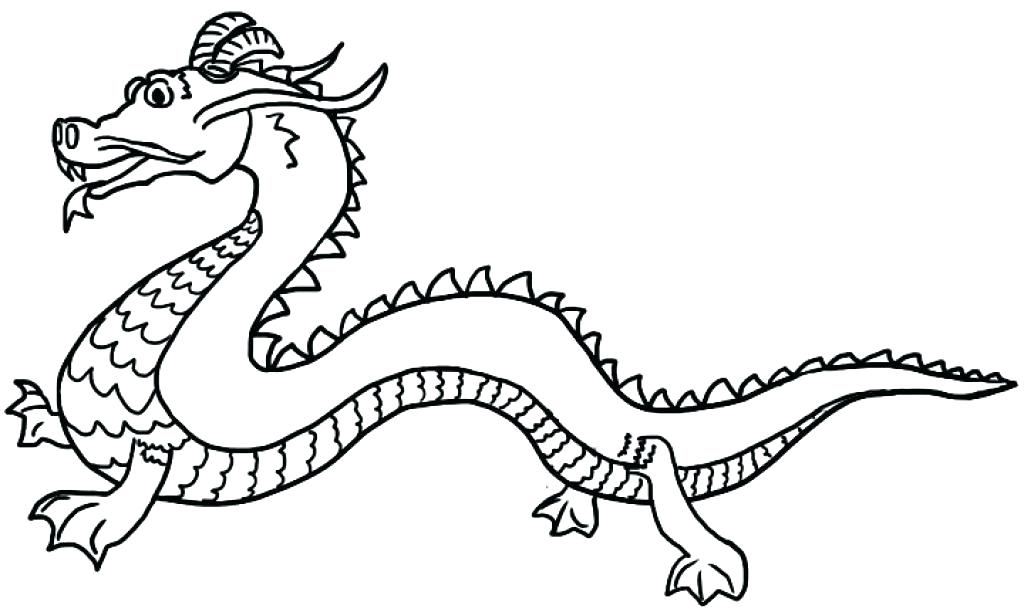 1024x612 Awesome Dragon Coloring Page And Dragon Printable Coloring Pages