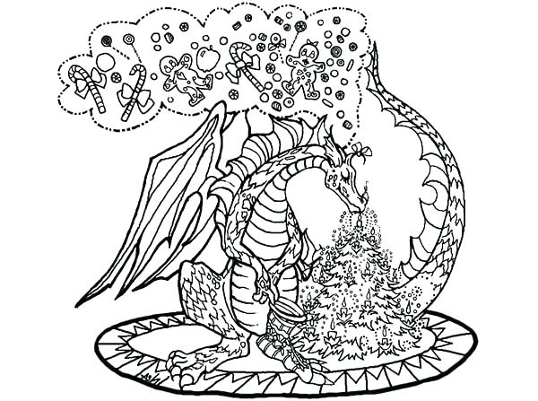 600x447 Hard Dragon Coloring Pages Coloring Pages Dragons Dragon Coloring