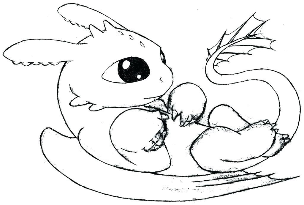 1024x690 Dragon Coloring Pages