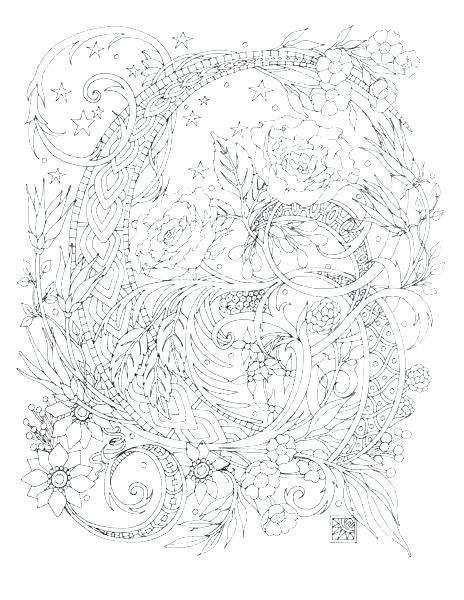 464x600 Hard Halloween Coloring Pages Hard Coloring Pages Hard Adult