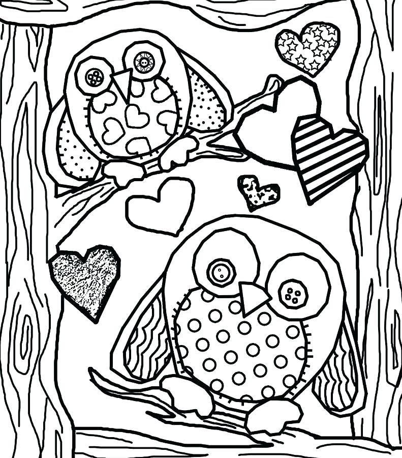 791x900 Owl Colouring Pages Mama Baby Owl Coloring Page Owl Coloring Pages