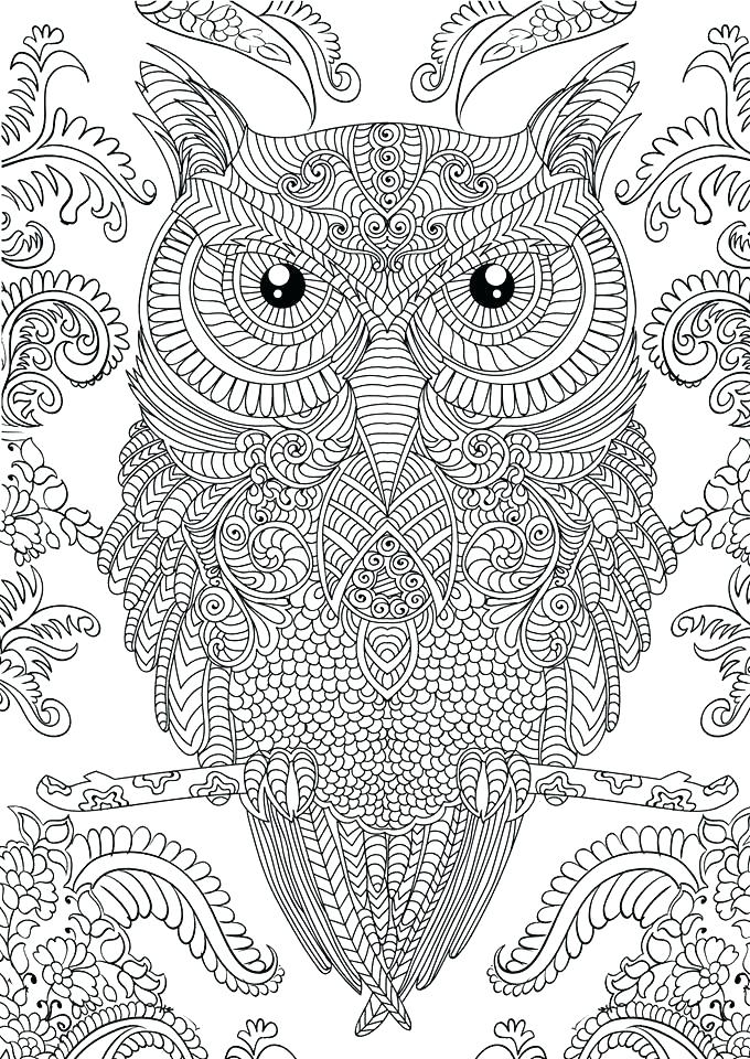 680x960 Challenging Coloring Pages For Adults