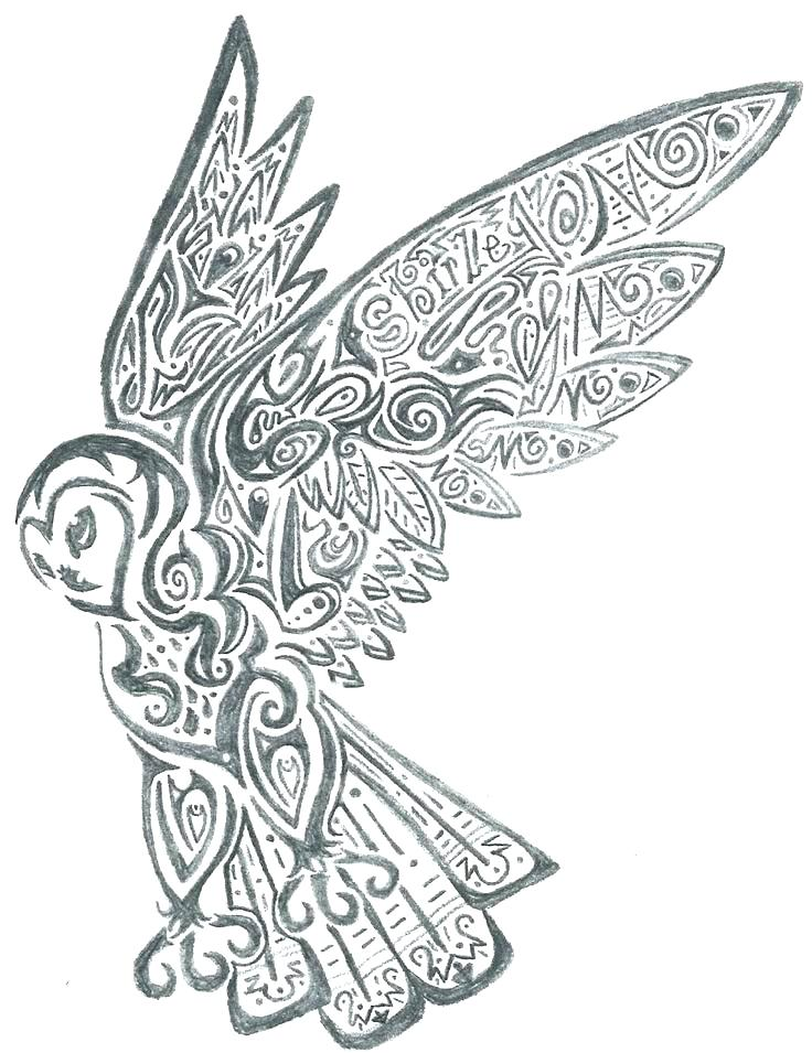 736x955 Hard Owl Coloring Pages Printable
