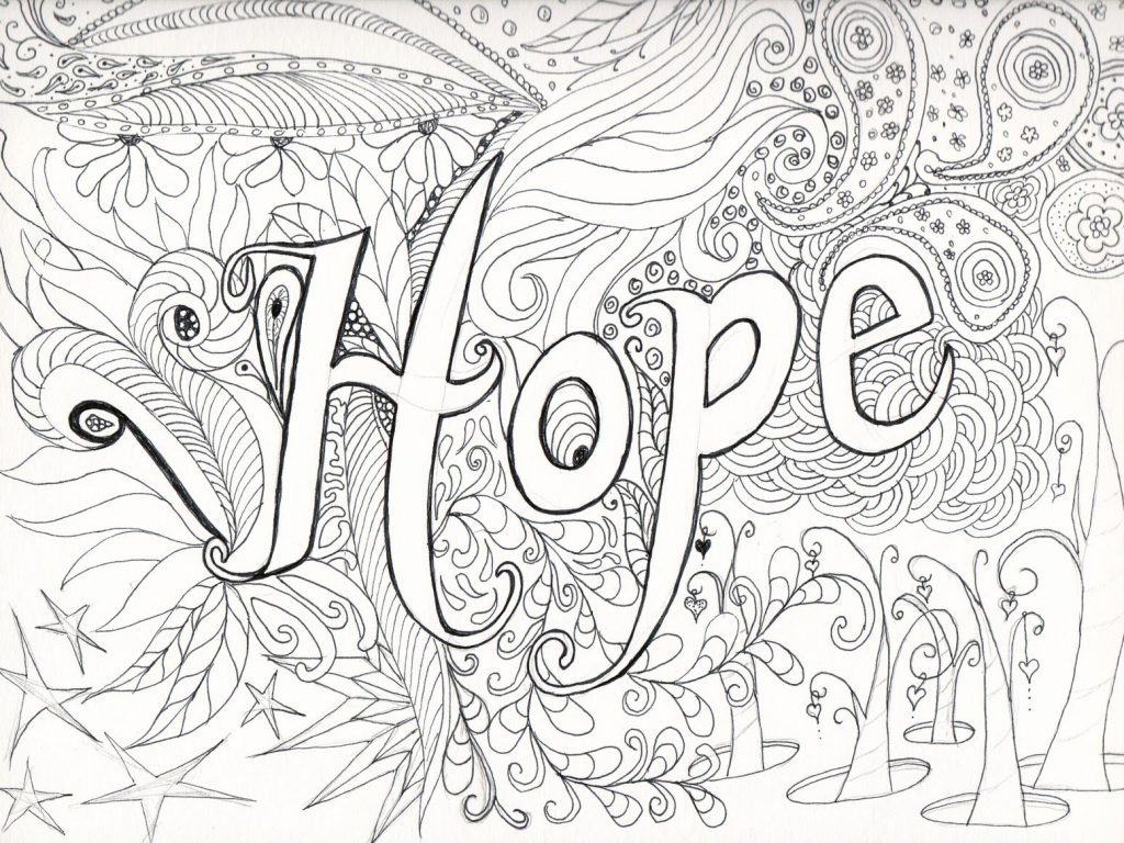 1024x768 Clever Design Printable Difficult Coloring Pages Fabulous