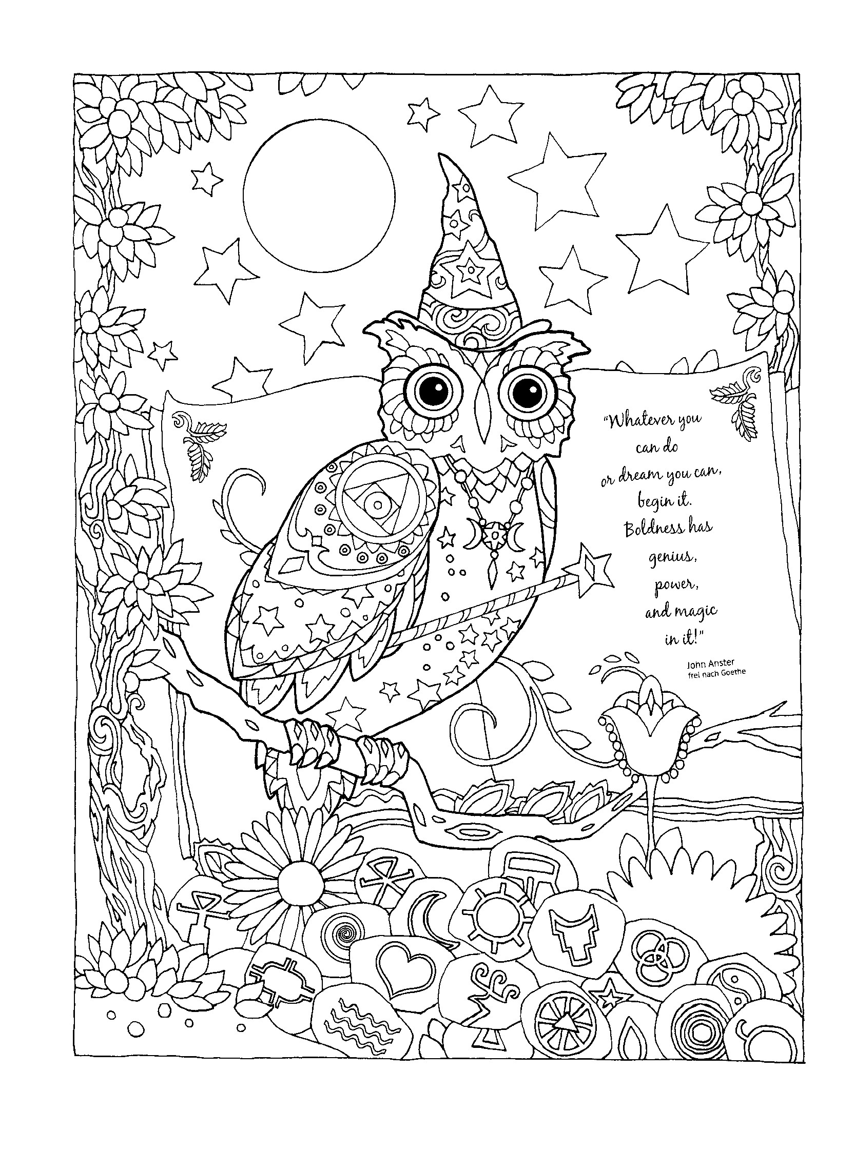 1664x2239 Fresh Astonishing Hard Owl Coloring Pages Adult With Coloring