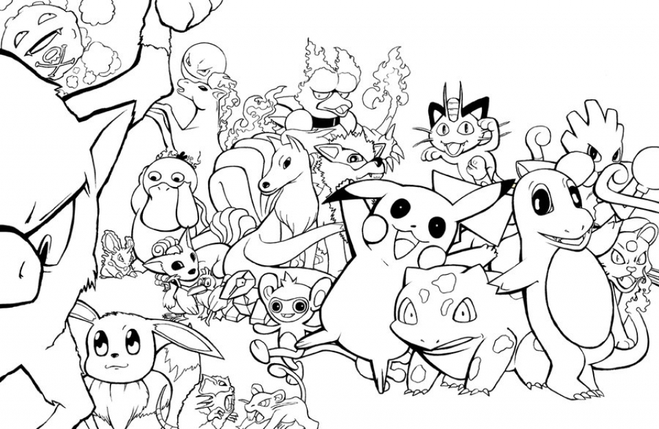 960x626 Get This Free Coloring Pages Pokemon To Print !