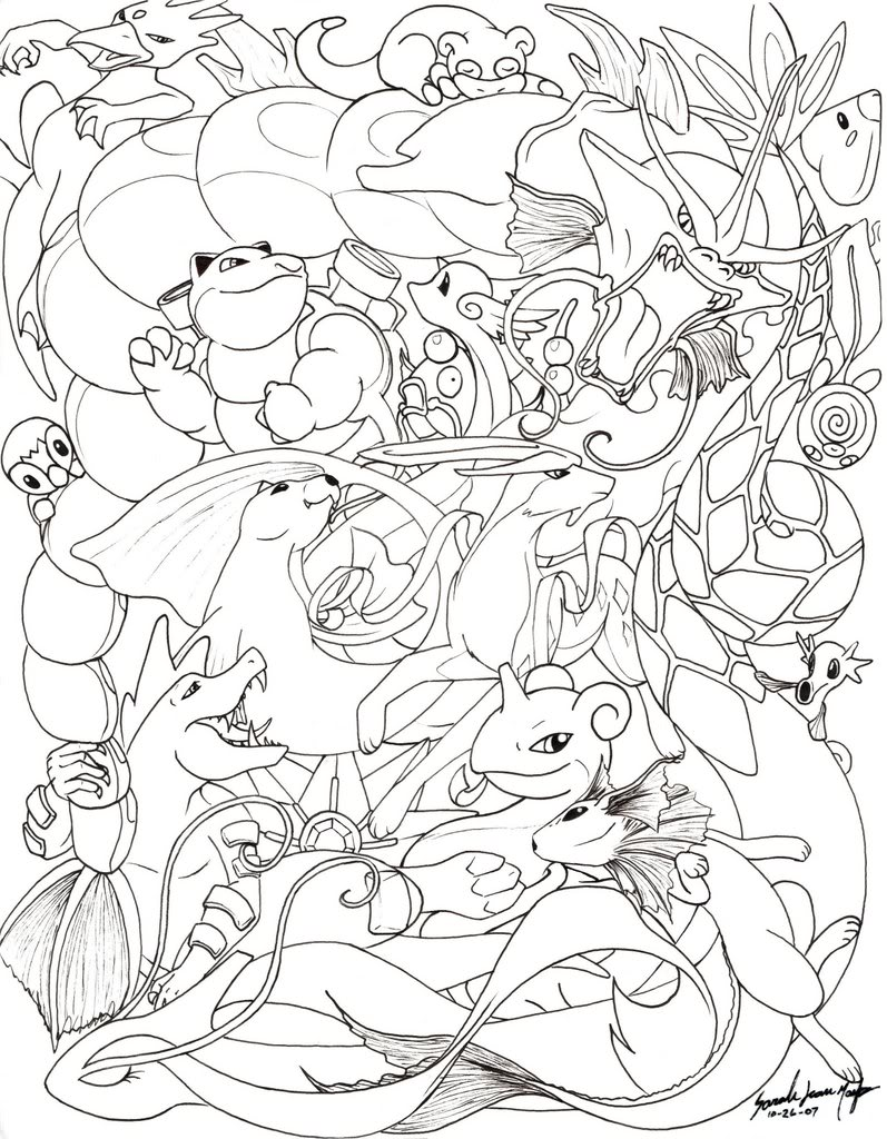 797x1024 Pokemon Coloring Pages Colorings