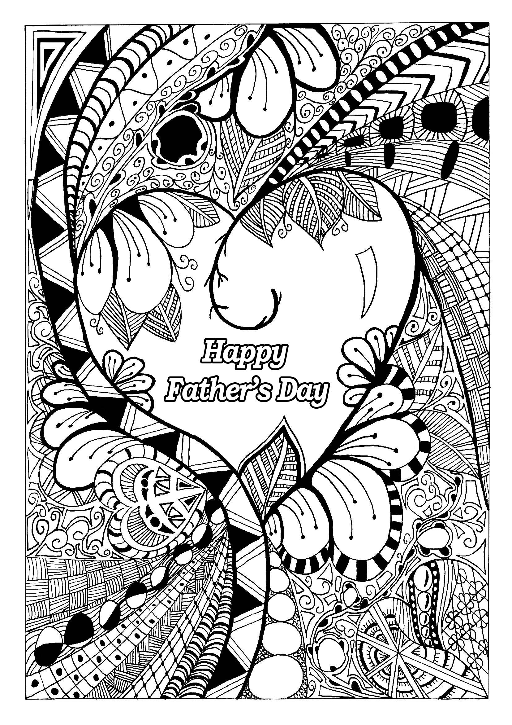 1655x2340 Best Of Hard Adult Coloring Pages To Print Fathers Day Gallery