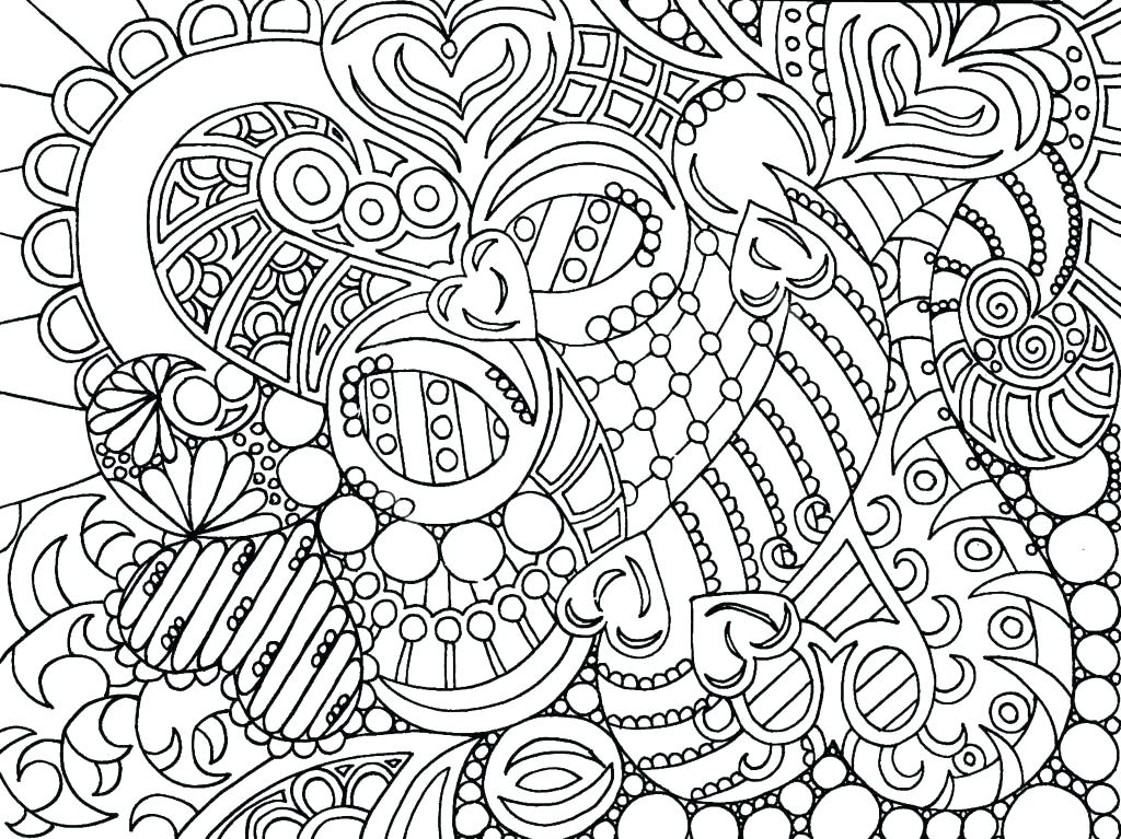 1024x767 Challenging Coloring Pages Challenging Coloring Pages For Adults