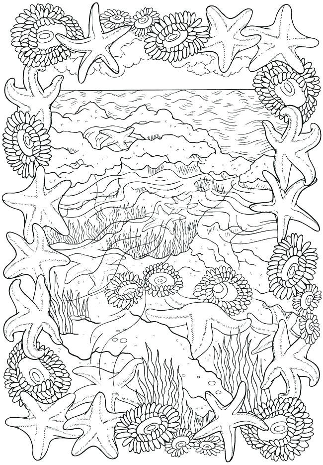Hard To Color Coloring Pages