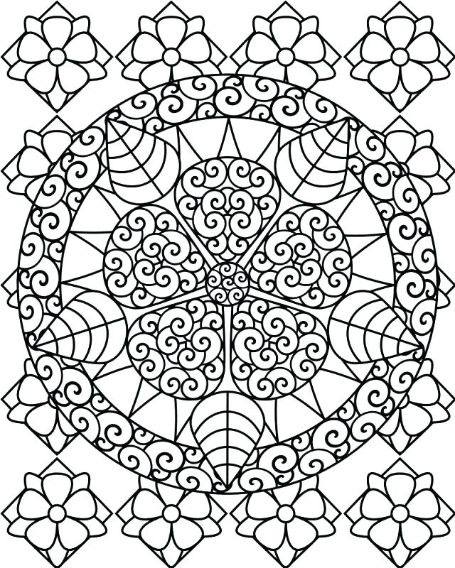 640x800 Hard Coloring Pages Printable Challenging Coloring Pages Together