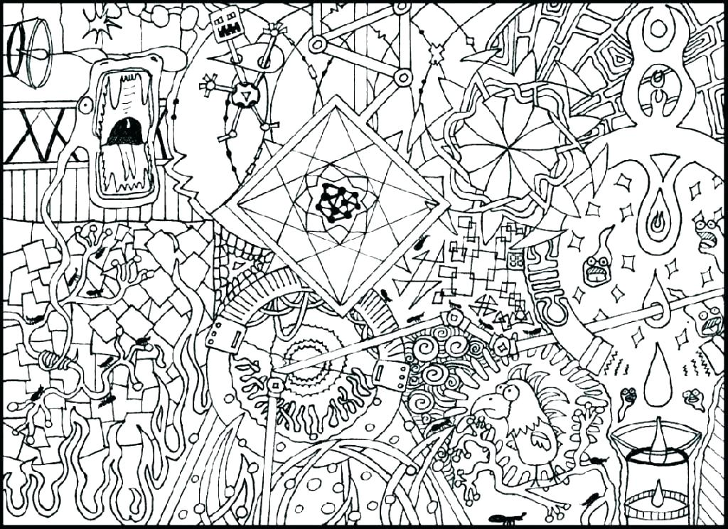 1024x744 Coloring Pages That Are Hard Deepart