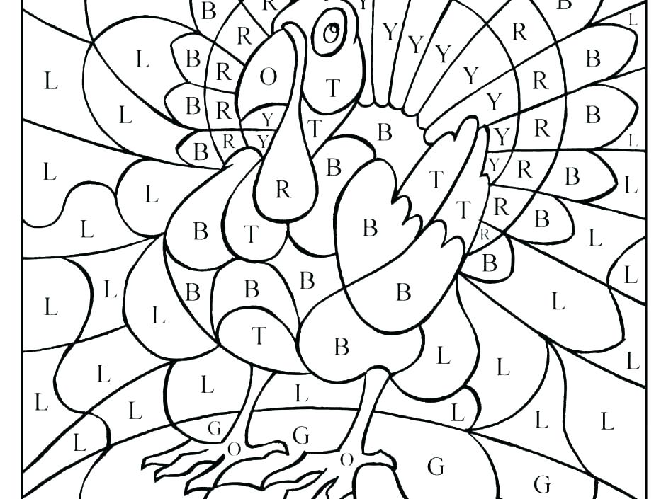 940x705 Hard Color Coded Coloring Pages Jgheraghty Site