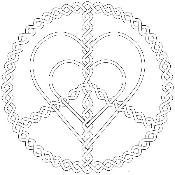 600x600 Hard Coloring Pages For Teenagers