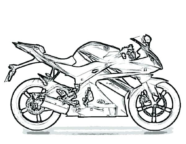 600x464 Harley Davidson Coloring Pages Coloring Book Pages Harley Davidson