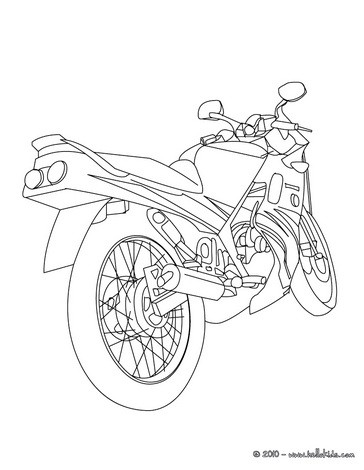364x470 Harley Davidson Coloring Pages
