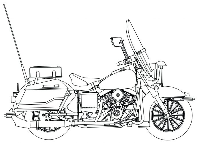 689x500 Coloring Pages Motorcycle Coloring Pages Bike Page