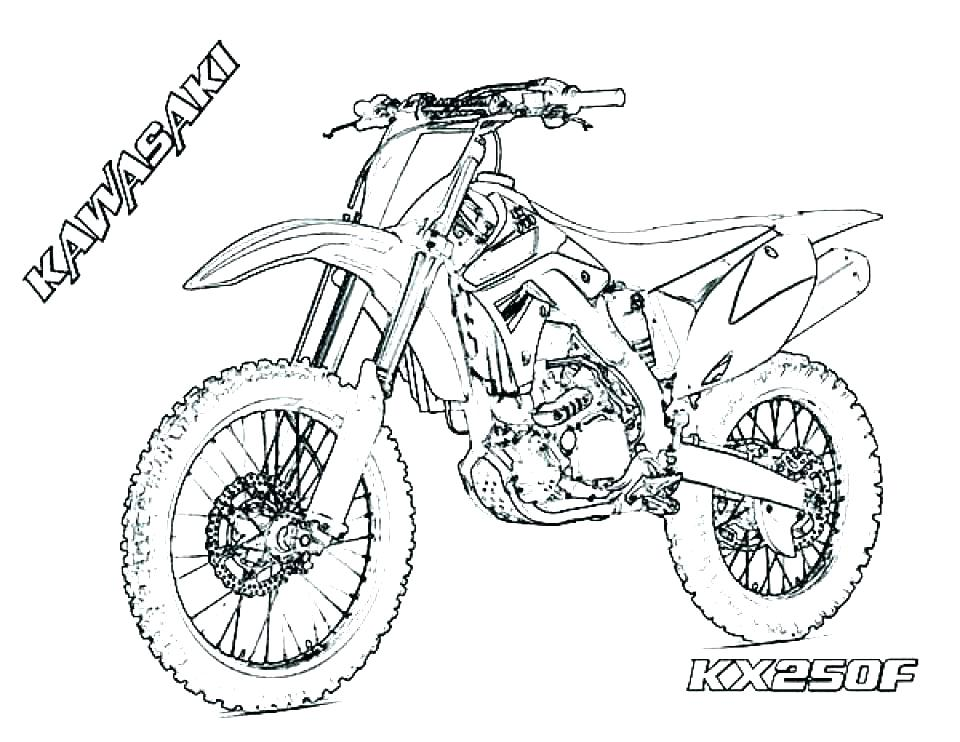 960x742 Motorcycle Coloring Pages To Print