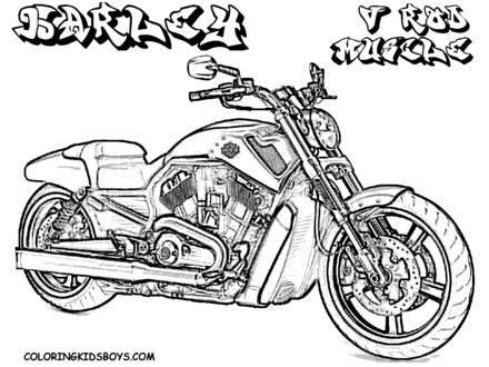 440x330 Harley Davidson Logo Coloring Pages Coloring Home, Harley Davidson
