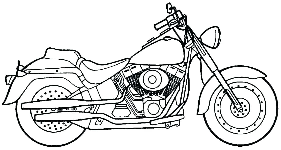 1124x600 Printable Harley Davidson Coloring Pages Harley Davidson Colouring