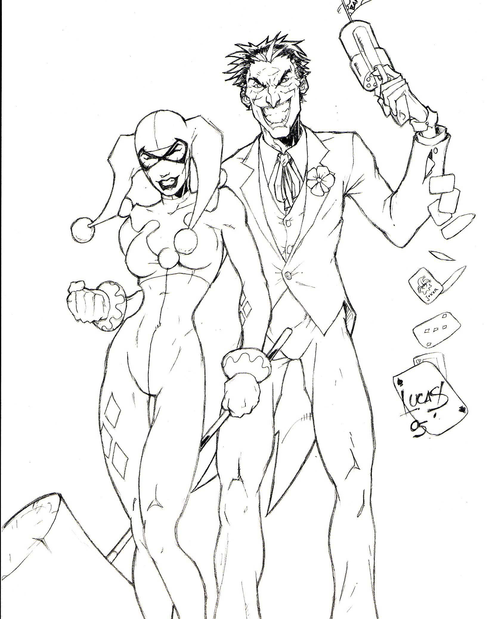 1640x2076 Harley Quinn Coloring Pages To Download And Print For Free
