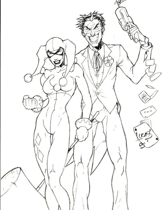564x713 Harley Quinn Coloring Pages To Download And Print For Free