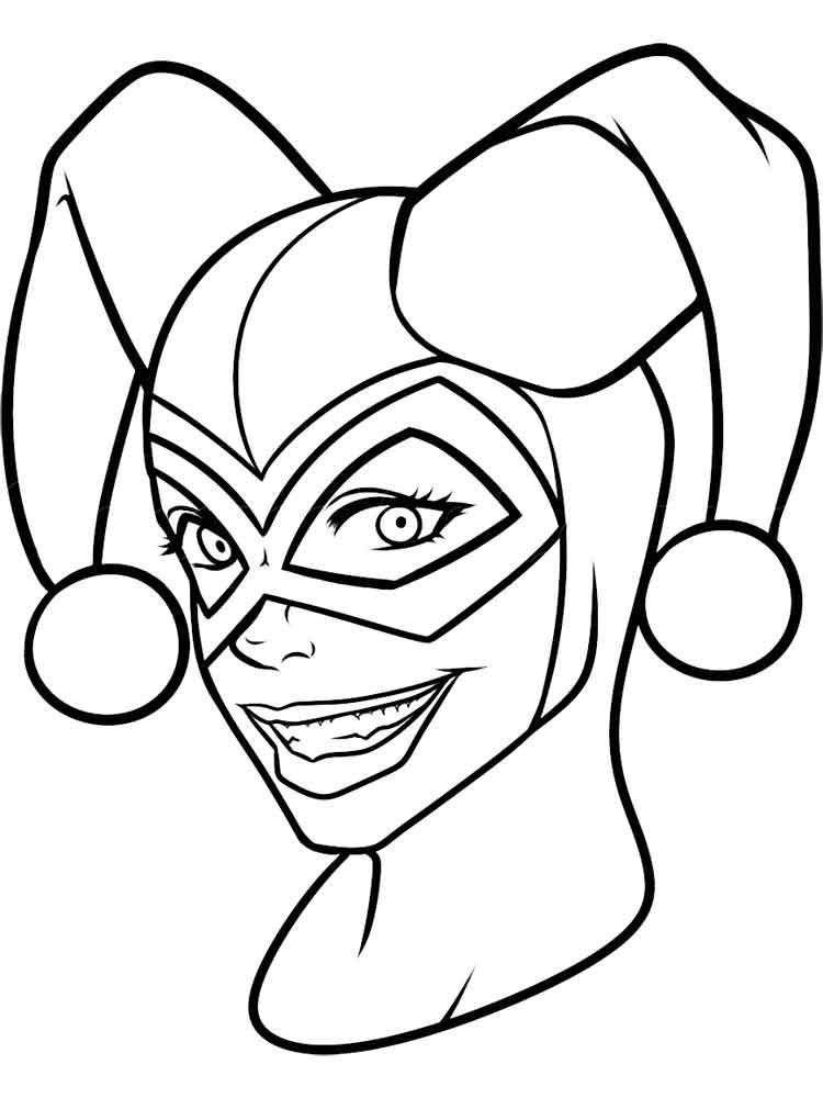 750x1000 Harley Quinn Coloring Pages Harley Quinn, Journal Ideas And Journal