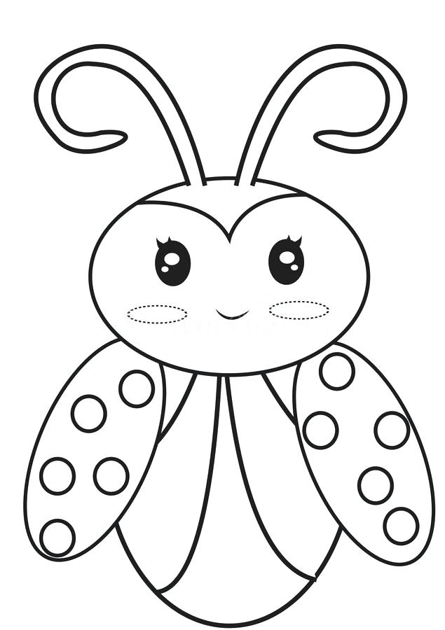635x900 Bug Outline Coloring Pages Funny Coloring Bug Outline Coloring