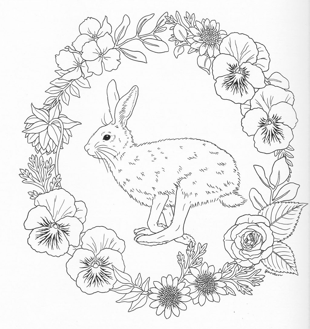 1024x1087 Coloring Book Splendi Harmony Of Nature Coloring Book Picture