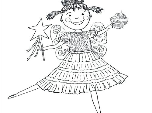 500x372 Pinkalicious Coloring Pages Harpy Eagle Coloring Page Best