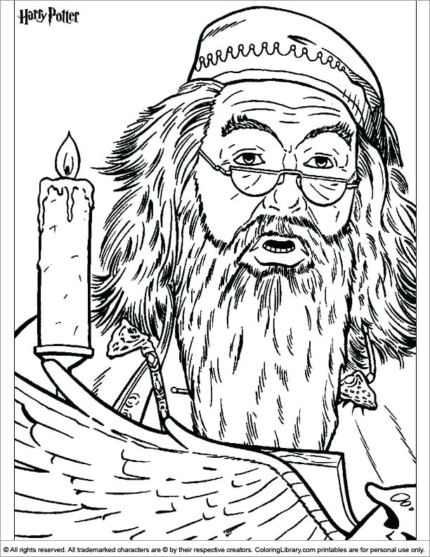 612x792 Best Coloring Pages To Print Harry Potter Images On Harry Potter