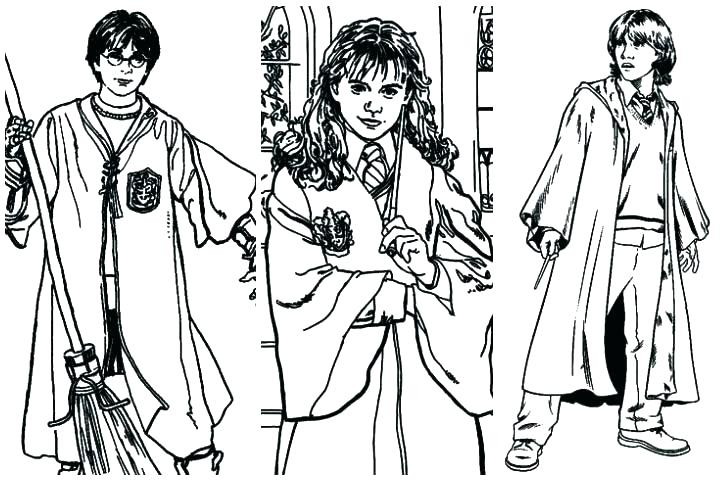 720x480 Harry Potter Coloring Pages
