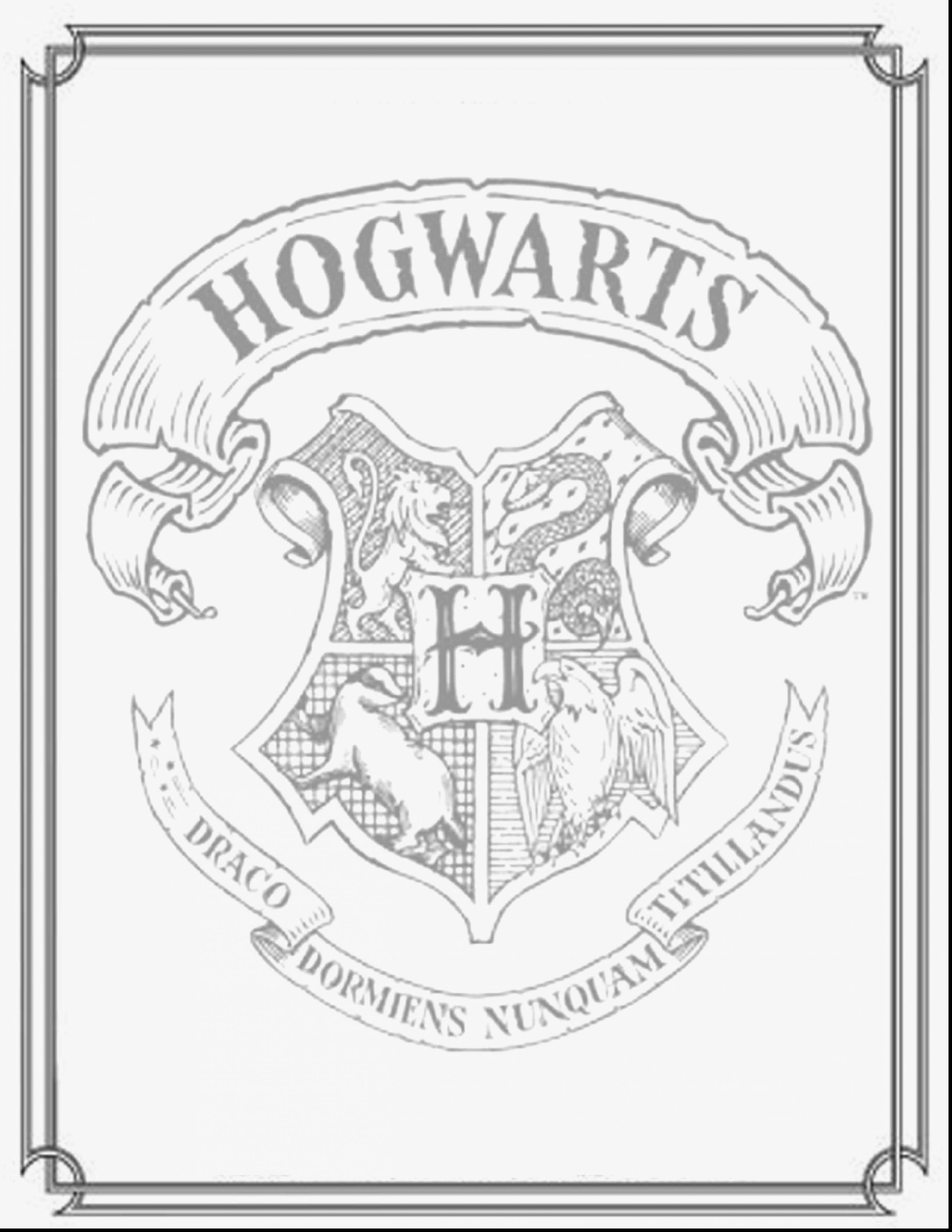 2721x3521 Harry Potter Coloring Pages Hogwarts Crest Fresh
