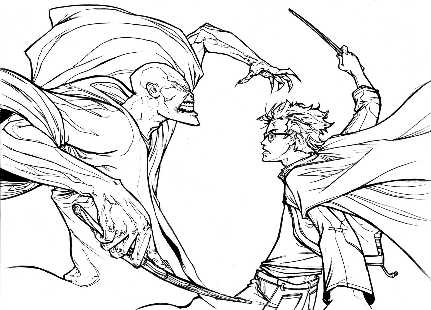 1638x1179 Harry Potter Coloring Pages