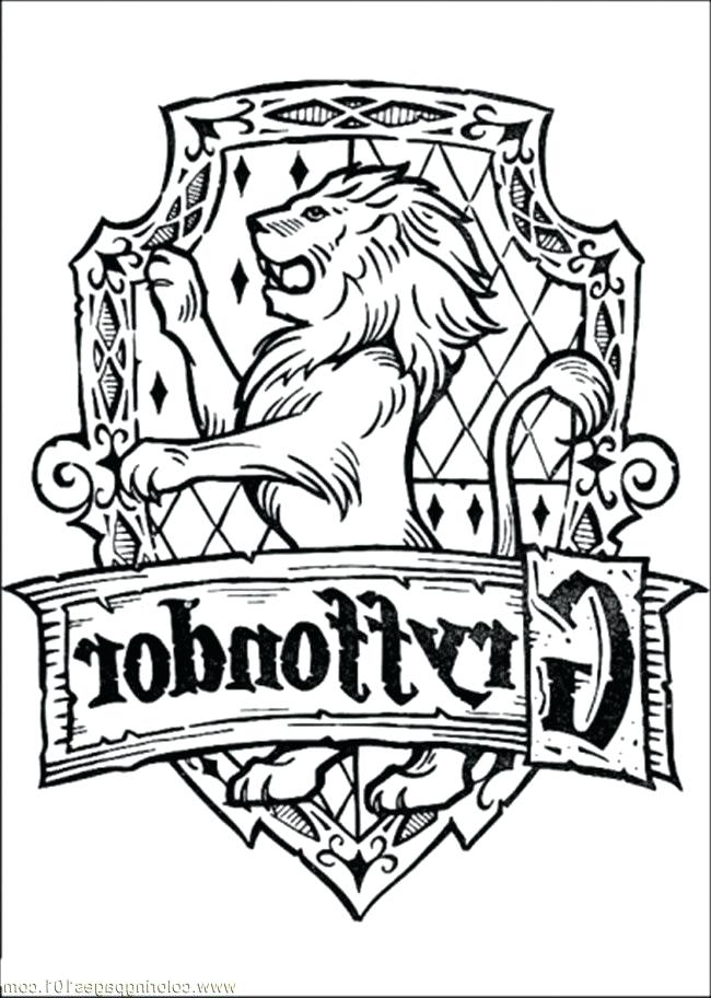 650x912 Slytherin Crest Coloring Page Harry Potter Colouring Pages Pdf