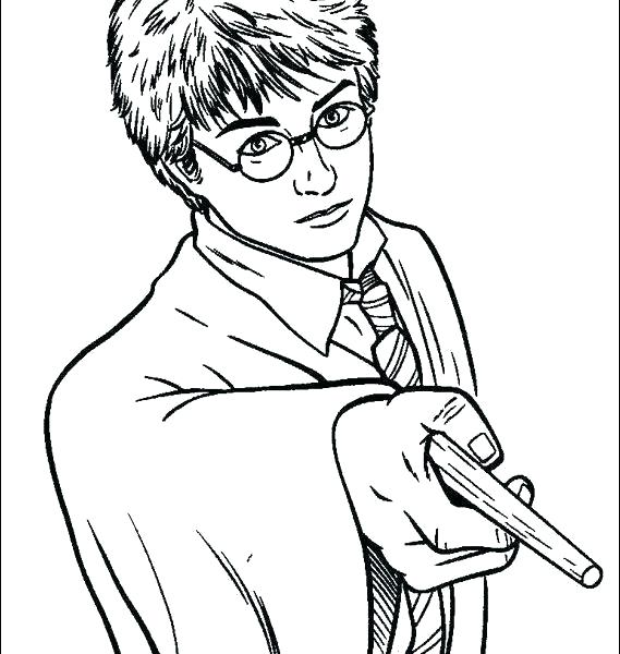 569x600 Coloring Pages Of Harry Potter Coloring Pages Harry Potter