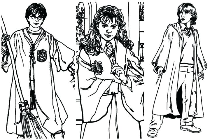 720x480 Hermione Coloring Pages Harry Potter Coloring Pages All Characters