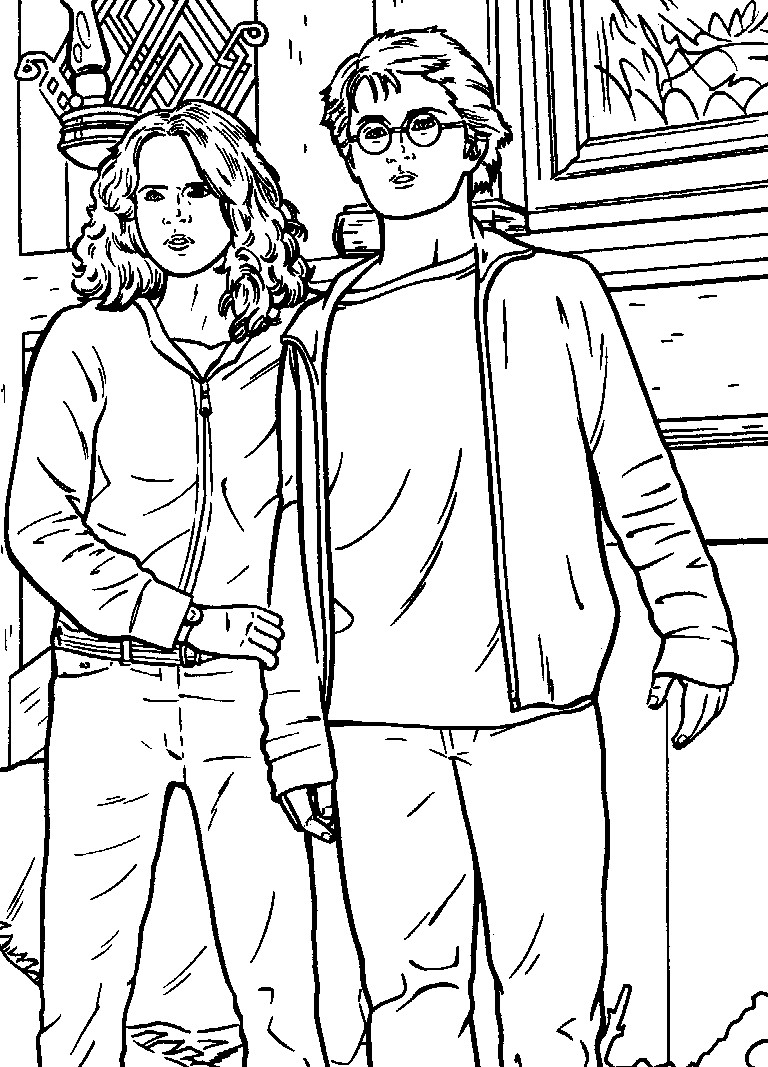 768x1067 Quality Free Harry Potter Coloring Pages Movie