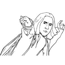 230x230 Top Free Printable Harry Potter Coloring Pages Online