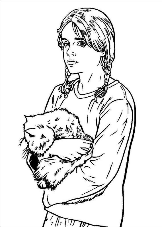 569x796 Harry Potter Coloring Page