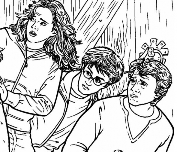 590x506 Harry Potter Coloring Pages Coloring Pages Harry