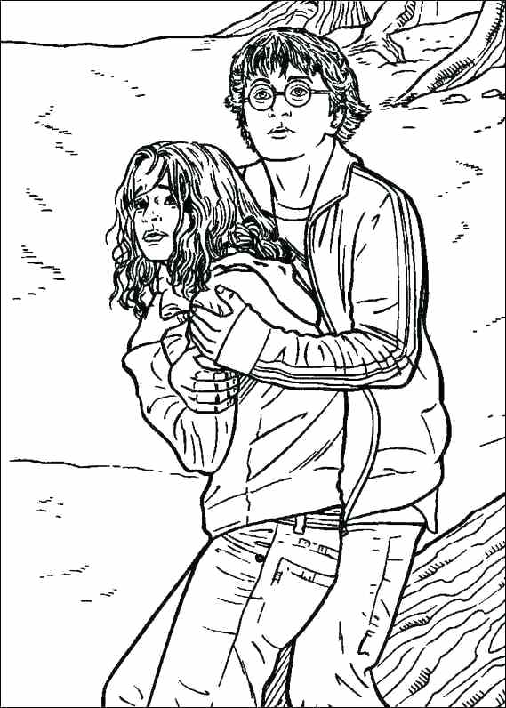 569x796 Harry Potter Coloring Pages Plus Coloring Pages Harry And Harry