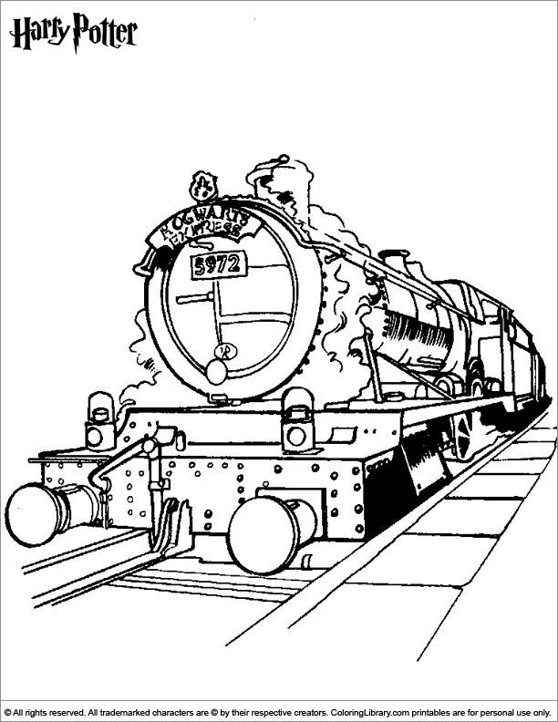 612x792 Harry Potter Coloring Page Noah's Harry