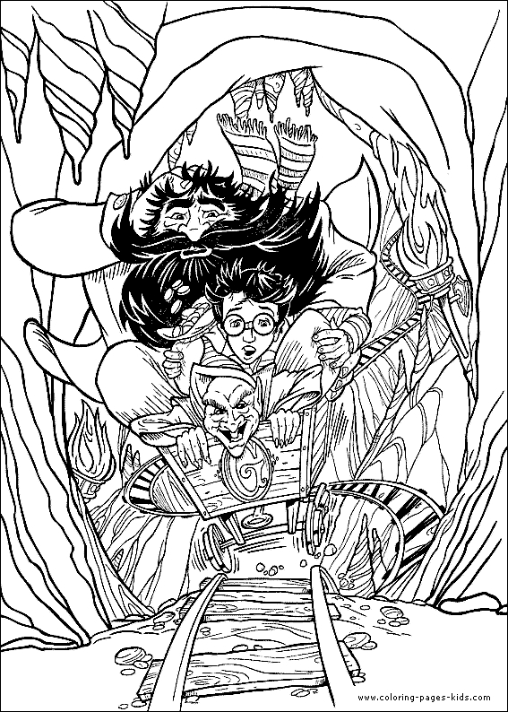567x794 Harry Potter Coloring Pages For Kids Elegant The Quidditch Game